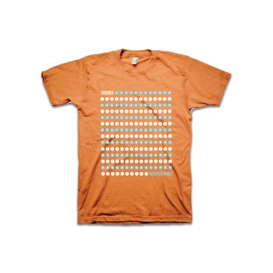 Orange Dot Drop T-Shirt