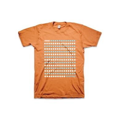Evidence Orange Dot Drop T-Shirt