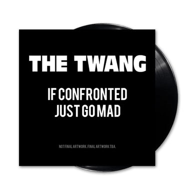 If Confronted Just Go Mad (Signed) LP (Vinyl)