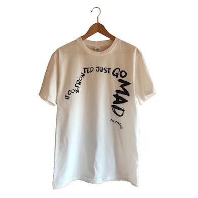 The Twang Text T-Shirt (Black On White)