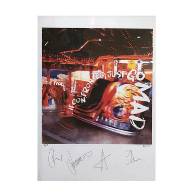 The Twang If Confronted Just Go Mad Signed & Numbered Print
