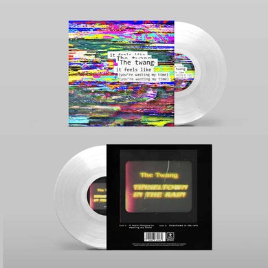The Twang It Feels Like (You're Wasting My Time) / Tinseltown In The Rain Clear 7-Inch Vinyl (Ltd Edition) 7 Inch