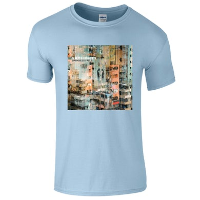 42's Records Darkness Falls Light Blue Tee (Men's/Women's Fit Available)