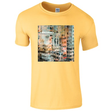 42's Records Darkness Falls Yellow Tee (Men's/Women's Fit Available)