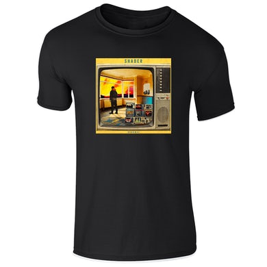 42's Records Runaway Black Tee - Men's/Women's Fit Available