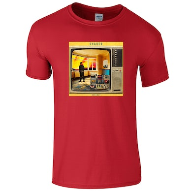 42's Records Runaway Red Tee - Men's/Women's Fit Available