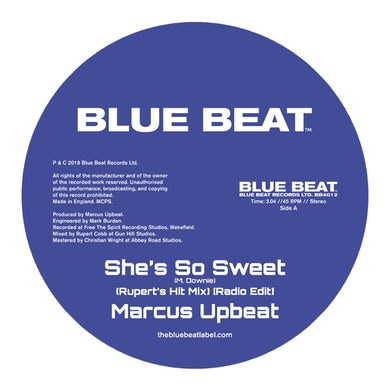 The Blue Beat Label She's So Sweet  7 Inch