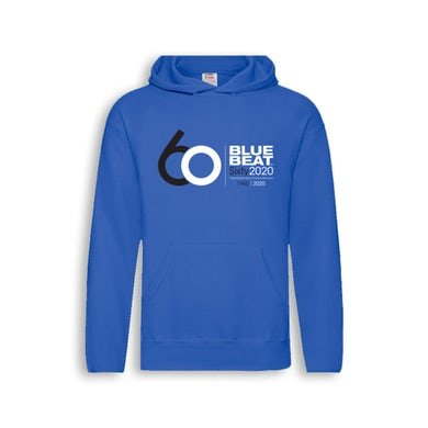 The Blue Beat Label 60 Year Hoodie