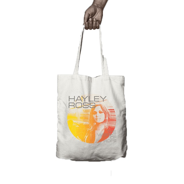 Hayley Ross The Weight Of Hope Tote Bag