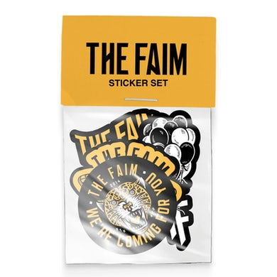 The FAIM State of Mind Sticker Set