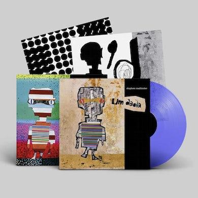 Stephen Mallinder Um Dada Blue/Clear Ltd Edition Heavyweight LP (Vinyl)