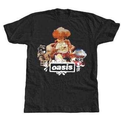 Oasis Atom black T-Shirt