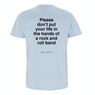 Oasis Don't Look Back In Anger Lyric T-shirt