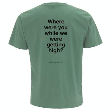 Oasis Champagne Supernova Lyric T-shirt