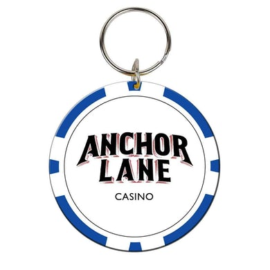 Anchor Lane Casino Chip Keyring