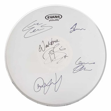 Rack Tom Drum Skin: Signed by Anchor Lane & Toby Jepson