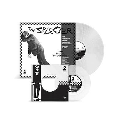 """Too Much Pressure - 12"""" Clear Vinyl Vinyl"""