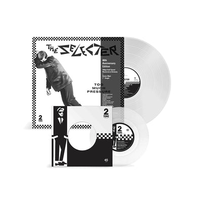 """The Selecter Too Much Pressure - 12"""" Clear Vinyl Vinyl"""