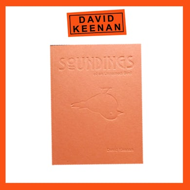 "David Keenan ""WHAT THEN?"" Poetry Book"