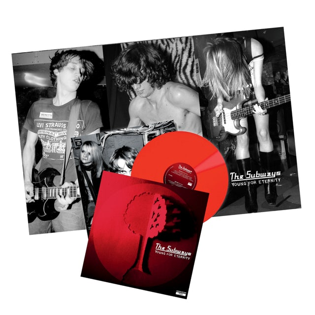 The Subways Young For Eternity Red LP