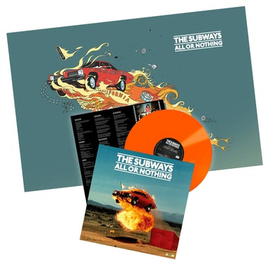 All Or Nothing Orange LP