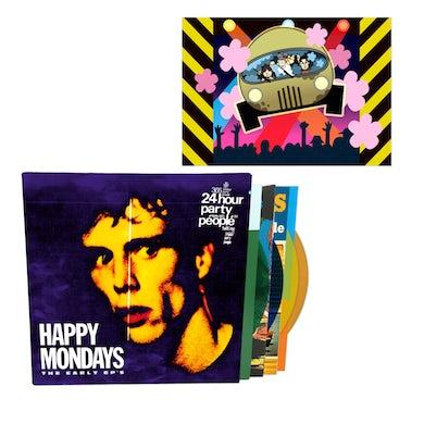 Happy Mondays The Early EPs Coloured Boxset