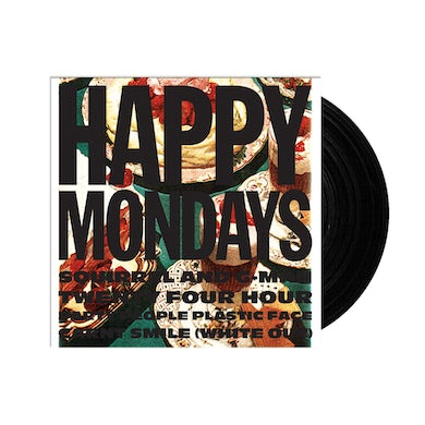 Happy Mondays Squirrel and G-Man Twenty Four Hour Party People Plastic Face Carnt Smile (White Out) Heavyweight LP (Vinyl)