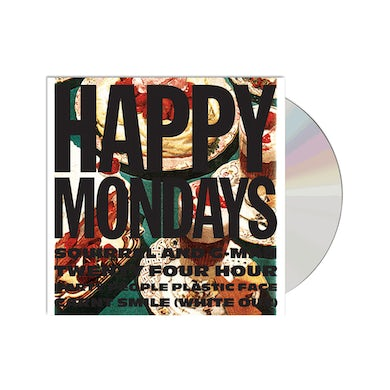 Happy Mondays Squirrel And G-Man Twenty Four Hour Party People Plastic Face Carnt Smile (White Out)  CD