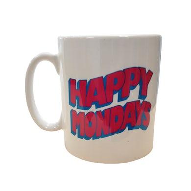 Happy Mondays Wavey Logo Mug
