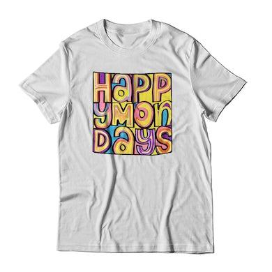 Happy Mondays 30th Anniversary White T-Shirt