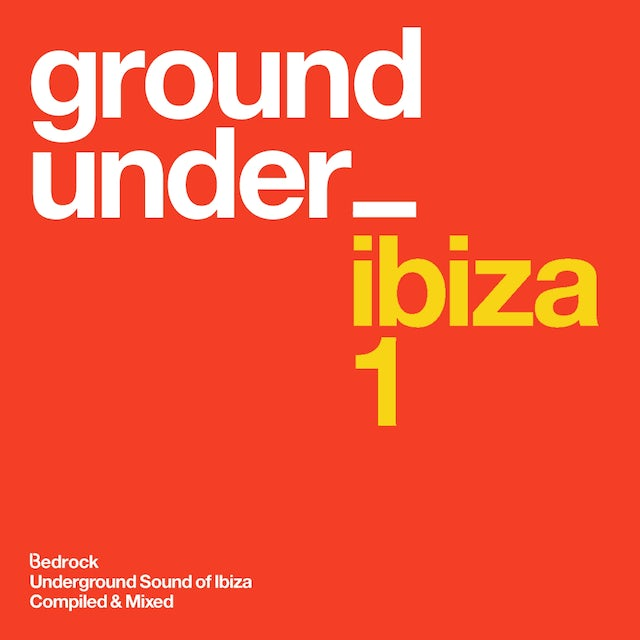 Bedrock Music Underground Sound Of Ibiza 1 2xCD CD