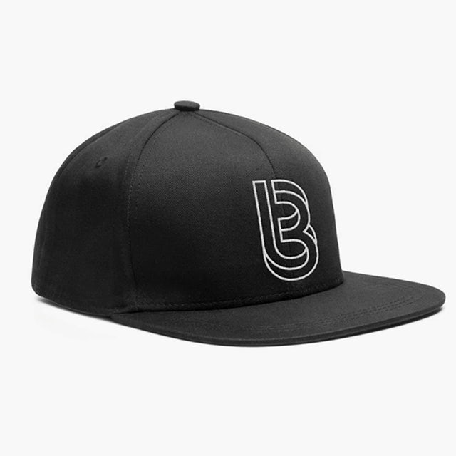 Bedrock Music Bedrock Restructured Snapback Hat in Black