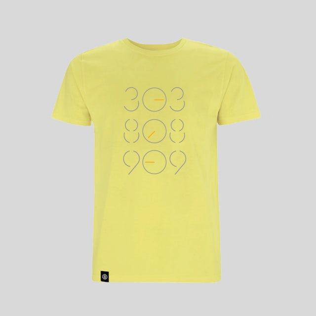 Bedrock Music Yellow 303 808 909 T-Shirt