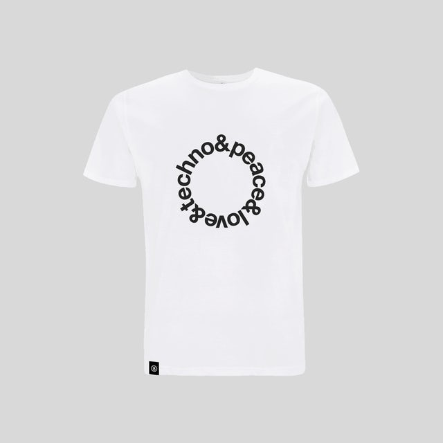 Bedrock Music White Techno T-Shirt