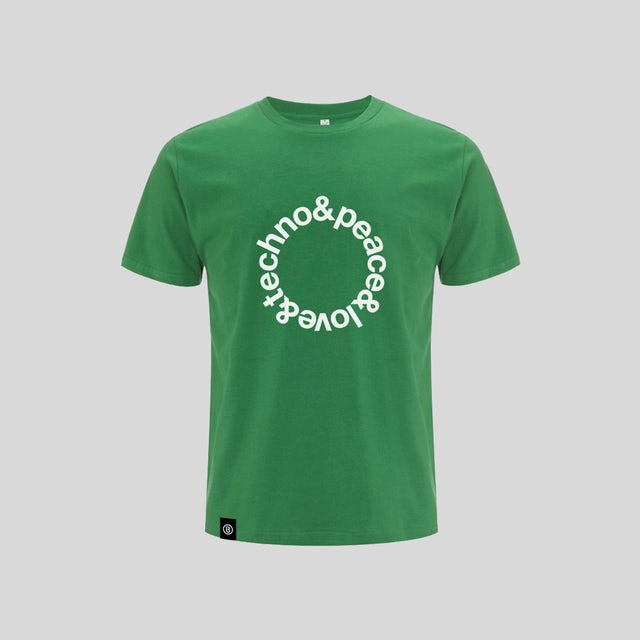 Bedrock Music Green Techno T-Shirt