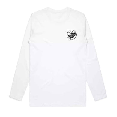 Hollow Coves White Long Sleeve T-Shirt