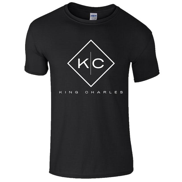King Charles Freak Black T-Shirt