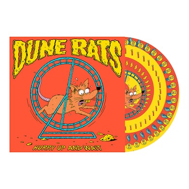 Dune Rats Hurry Up And Wait Picture Disc Vinyl LP