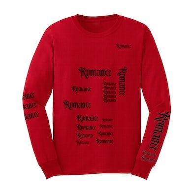 Camila Cabello Romance Long Sleeve T-Shirt