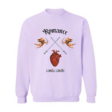 Camila Cabello Purple Crossheart Sweatshirt