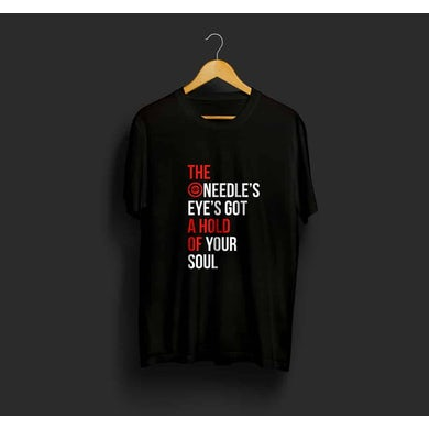The Ruby Tuesdays Black Needle T-Shirt