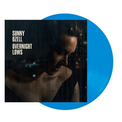 Sunny Ozell Overnight Lows Blue Signed LP (Vinyl)