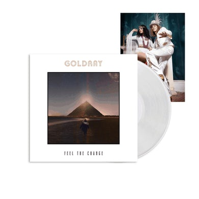Planet Rock Feel The Change White LP (Vinyl)
