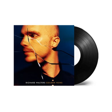 Golden Veins Black Signed Vinyl