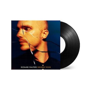 Richard Walters Golden Veins Black Signed Vinyl