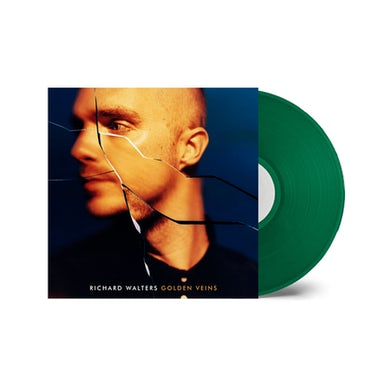Richard Walters Golden Veins Green Transparent Vinyl