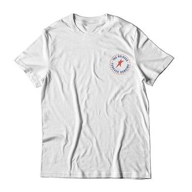 White Chest Print T-Shirt