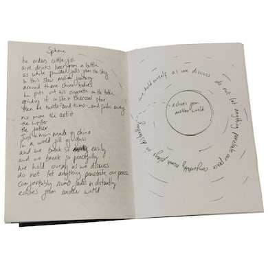 Polly Scattergood Limited Edition Handwritten Lyric Book