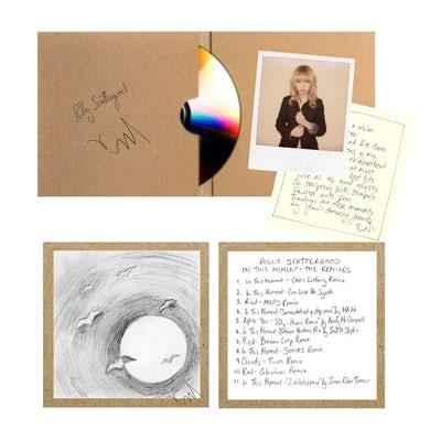 Polly Scattergood In This Moment Remix CD Signed + Poem & Photo CD