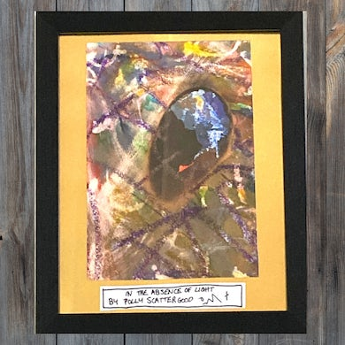 Polly Scattergood In The Absence of Light Bespoke Art Framed 1/1 (Signed + Numbered)